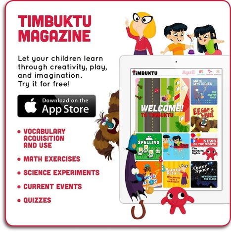 Golden Rules to design awesome apps for kids | Timbuktu | Family Friendly Apps | Scoop.it