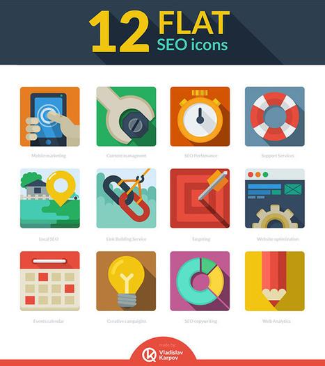 Le flat design: droit vers le minimalisme | Tendances design web | Scoop.it