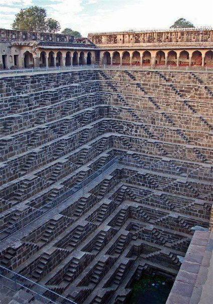 deep subject. deepest step well in the world in rajasthan india ...   rajasthan   Scoop.it