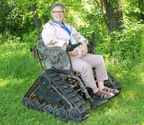 All-terrain wheelchair opens nature to people with physical challenges - Milwaukee Journal Sentinel   Scooters don't have to be red!   Scoop.it