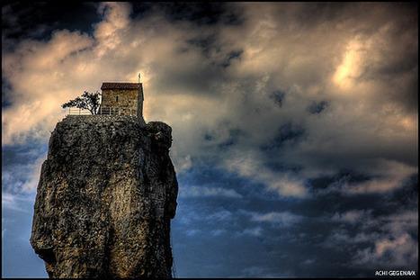 Katskhi Pillar – Stairway to Heaven in Georgia | Saving the Wild: Nature Conservation in the Caucasus | Scoop.it