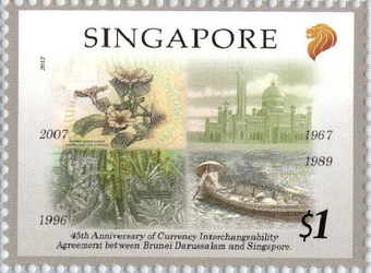 Interchangeabilité Singapour - Brunei | Philately, Books & Comics | Scoop.it