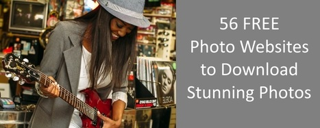 56 FREE Photo Websites to Download Stunning Photos | Blog it and Curation | Scoop.it