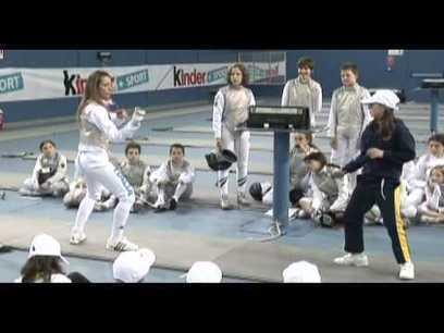 Valentina Vezzali - Maestra di Scherma per un giorno - YouTube | Fencing - Scherma - Escrime - Fechten | Scoop.it