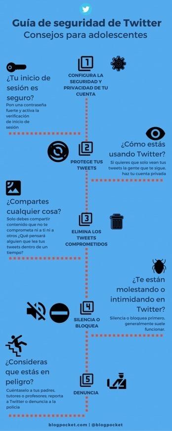 Guía de seguridad de Twitter - Blogpocket | Internet, un mar de posibilidades | Scoop.it