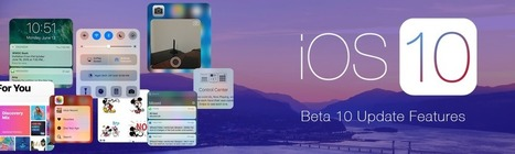 All you need to know regarding iOS 10 Beta 10 Update – Fusion Informatics | Web software and mobile application development company | Scoop.it