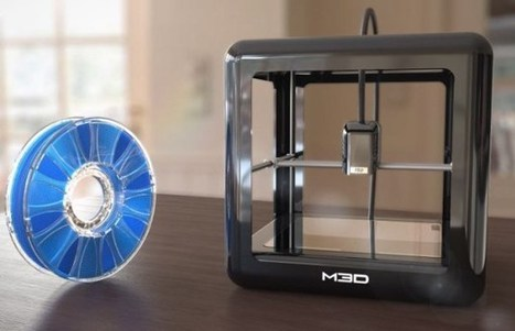 M3D Pro : une version améliorée de la M3D à 500 $ ! | FabLab - DIY - 3D printing- Maker | Scoop.it