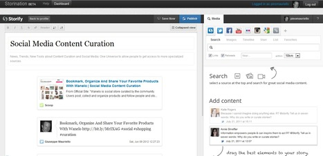 Content Curation Tool Storination Invites New Users For Private Beta | Social et Conservation | Scoop.it