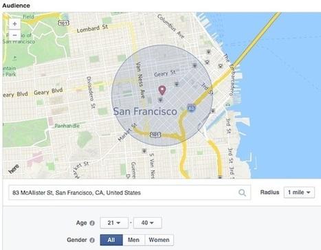 Facebook Debuts Local Awareness Ads |  AllFacebook | SocialMoMojo Web | Scoop.it