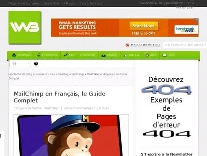MailChimp en Français, le Guide Complet | Websourcing.fr | Florentz | Scoop.it