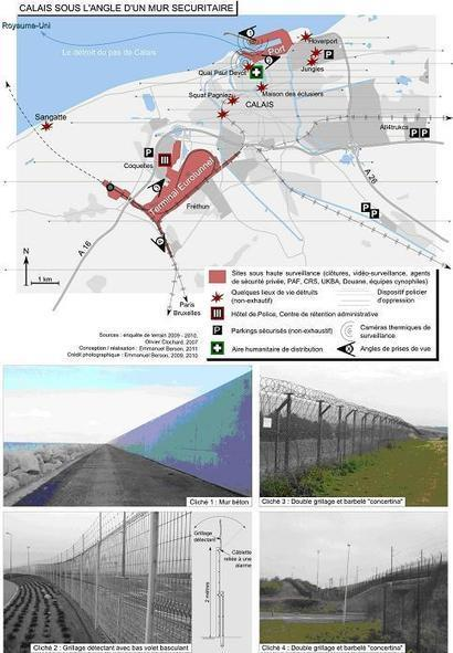 Un mur sur le détroit du Pas de Calais (Asylons)   Géographie des migrations   Scoop.it