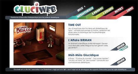 Gluciweb : plateforme de serious games pour les patients diabétiques | diabète de type 1 | Scoop.it