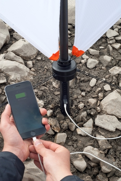 nils ferber's micro wind turbine charges your portable devices | BOB to BOL by BOV | Scoop.it