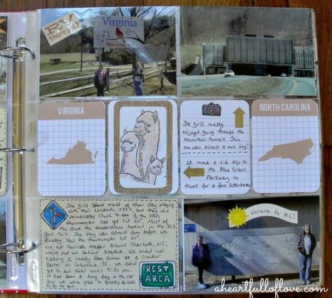 Project Life Scrapbooking ~ Disney Vacation Part 1 - A Heart Full of Love | Scrapbooking | Scoop.it