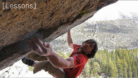 Lessons - Rock Climbing & Bouldering Videos | Bouldering | Scoop.it