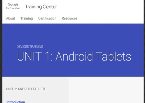 Excellent Resources to Help You Integrate Android Tablets in Your Teaching ~ Educational Technology and Mobile Learning   Educational Technology and Mobile Lerarning   Scoop.it