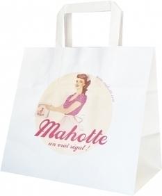 Le sac traiteur réalisé pour Mahotte, le camion restaurant! - sac papier - Le Sac Publicitaire   Sac papier publicitaire   Scoop.it
