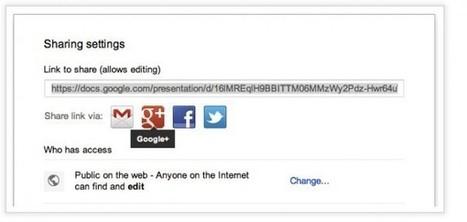 Google añade funciones para compartir contenido de Google Drive en Google Plus | google + y google apps | Scoop.it