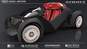 Vidéo : une voiture réalisée par imprimante 3D   Seniors   Scoop.it
