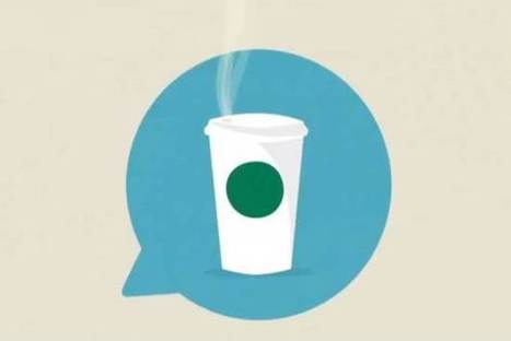 Starbucks Lets Friends Send Coffee To Each Other Via Tweets (creative and link back to IMC) | IMC 2014 AUT | Scoop.it