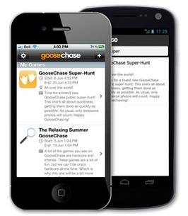 GooseChase - How It Works | Create: 2.0 Tools... and ESL | Scoop.it