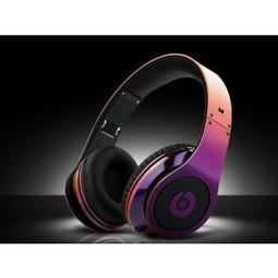 Monster Beats By Dr Dre Studio Headphone Rainbow Purple On MB1 | purple beats by dre studio  Purple studio | Scoop.it