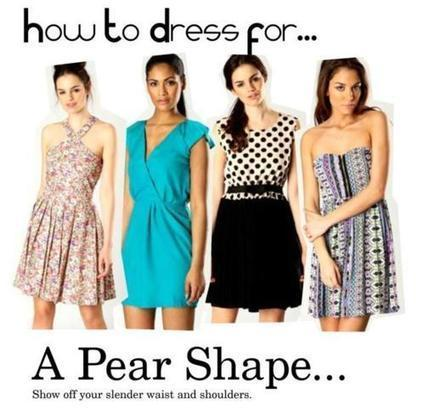 Dressing Trick for Pear Shaped Woman   Shopping   Scoop.it