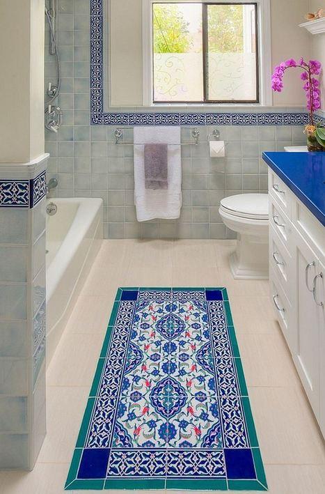 10 Floor Tile Designs For Every Corner of Your Home! | Designing Interiors | Scoop.it