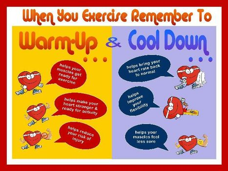 Warm Up and Cooldown: Why so important for heartpatients? | Heart diseases and Heart Conditions | Scoop.it