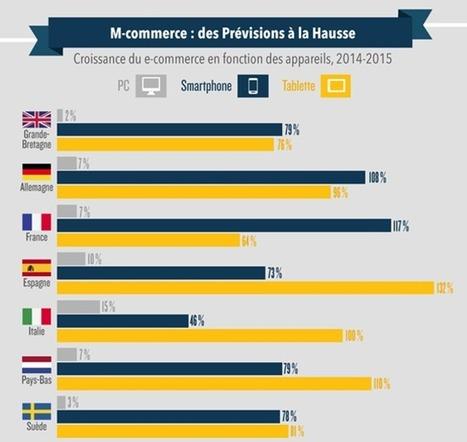 Le m-commerce, un marché en plein essor | Elouann Riaux | Scoop.it