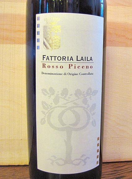 Fattoria Laila Rosso Piceno '09 | 'Winebanter' | Scoop.it