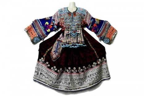 Afghan Kuchi Handmade Costume Dress Largest Tribal Ethnic Frock With Coins | Buy Belly Dance Jewelry Tribal Fusion Bellywood | Scoop.it