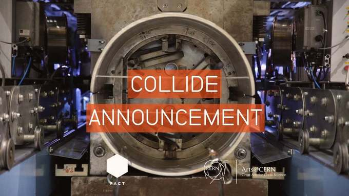 Collide@CERN International #Award 2016 annoucement // #mediaart #ArtSci
