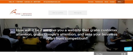 Website Design - Development Company | Professional Website Design | Atom It Services | Web Designing, Development and Consulting Services | Scoop.it