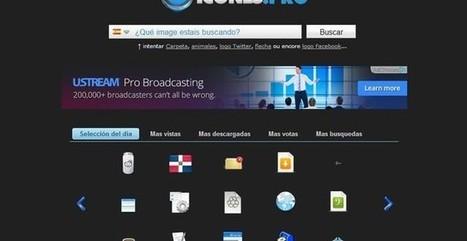 Icones, buscador de iconos con más de 20000 gráficos para descargar | Herramientas Digitales para el profesorado | Scoop.it