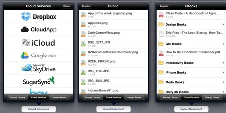 Open Source iOS Component Providing File Downloading From Many Different Services | Programación iphone | Scoop.it
