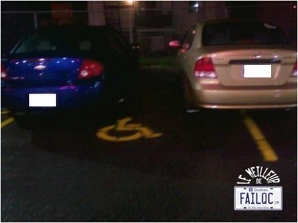 Ici on respecte nos handicapés (Le Meilleur de #FailQc) | FailQc .com | L'histoire sur la toile | Scoop.it