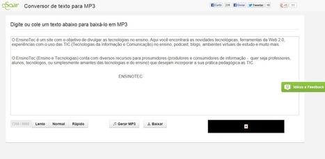 Soar Mp3 | CoAprendizagens 21 | Scoop.it