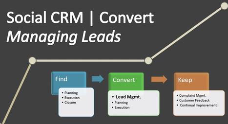 Social CRM | Convert | Managing Leads | Customer Relationship Management | Scoop.it