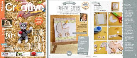 Les Créations du Lapin Bleu dans Créative Magazine n°17 | Loisirs créatifs, DIY & activités manuelles | Scoop.it