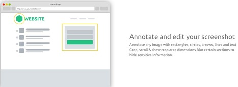Smartshot - Screen capture, Annotate and Share screenshot | ED 262 Research & Resource Skills | Scoop.it
