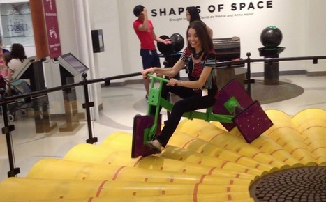 Museum of Mathematics, New York, NY | MathyCathy's Blog – Mrs. Cathy Yenca | Tablet Technology & Mathematics Education | Scoop.it