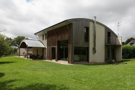 Bioclimatic House by Patrice Bideau, Pluvigner, France   Ageka les matériaux pour la construction bois.   Scoop.it