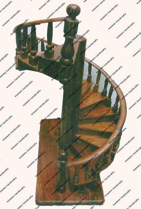 Wooden Stairs | Wooden Home Decoration | Scoop.it