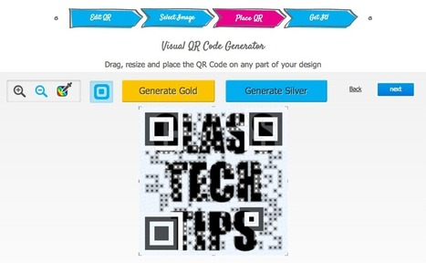 Images in Your QR Codes! | iPads in the Elementary Classroom | Scoop.it