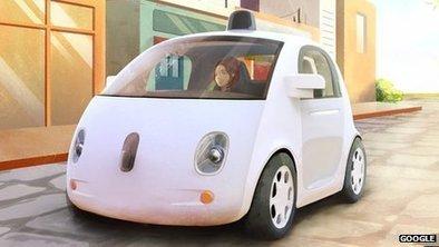 Google dévoile son prototype de voiture qui se conduit toute seule | mediaTIC+ | Scoop.it