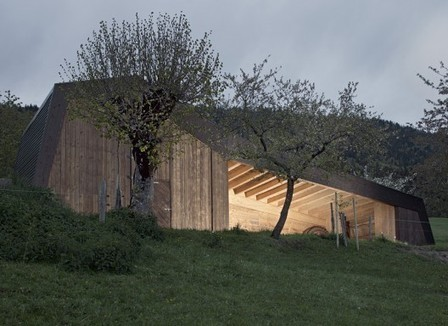 [Lignières, Switzerland] Hangar Agricole / LOCALARCHITECTURE | The Architecture of the City | Scoop.it