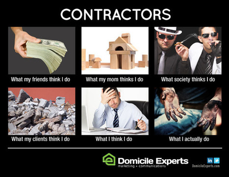 Contractors | What I really do | Scoop.it