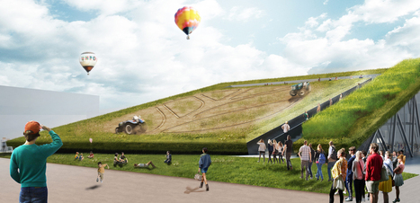 Earth Screening: the Winning proposal for Holland 'sustainable farming' pavilion at Expo Milano 2015 | green streets | Scoop.it
