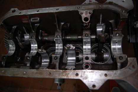 Motore Volvo Penta AQ 130 restauro, banco e albero motore | Nautica-epoca | Scoop.it